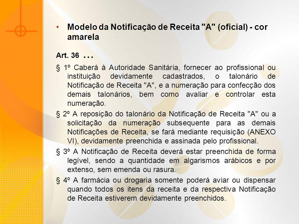 Modelo da Notificação de Receita