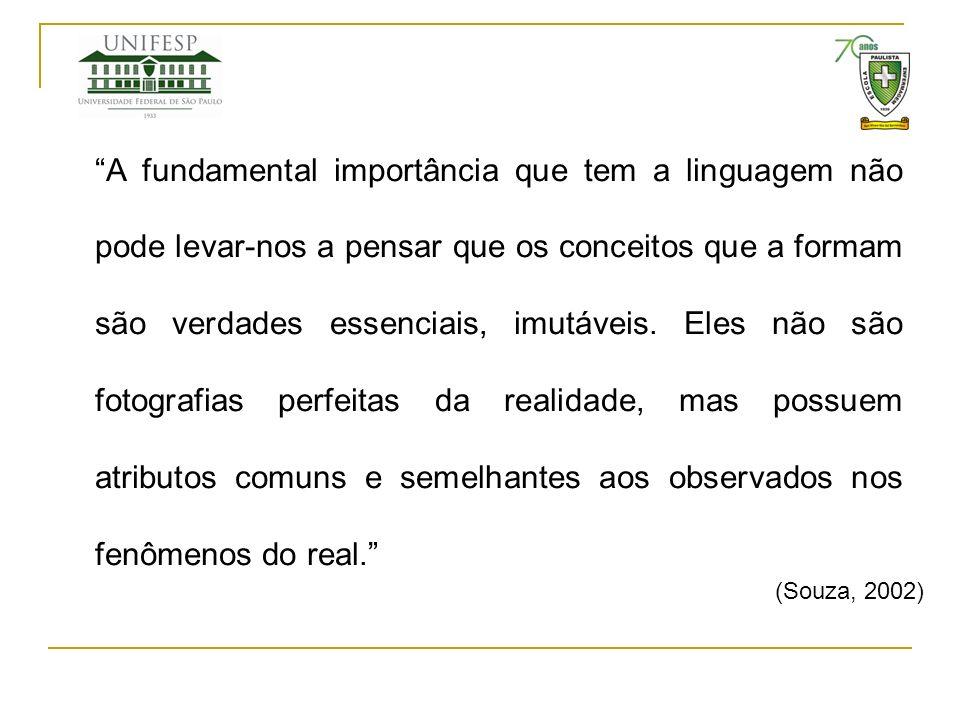 A fundamental importância que tem a linguagem não pode levar-nos a pensar que os conceitos que a formam são verdades essenciais, imutáveis. Eles não s
