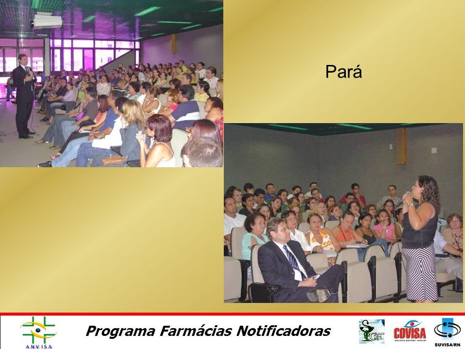 Programa Farmácias Notificadoras Santa Catarina