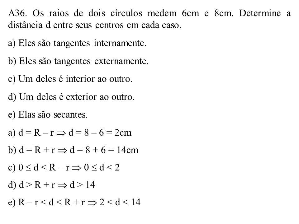 Na figura, M e N são os pontos médios dos lados AB e AC do triângulo ABC. Assinale a afirmativa FALSA. a) MN // BC b) MN = BC 2 c) BP = 2.PN d) MC = A