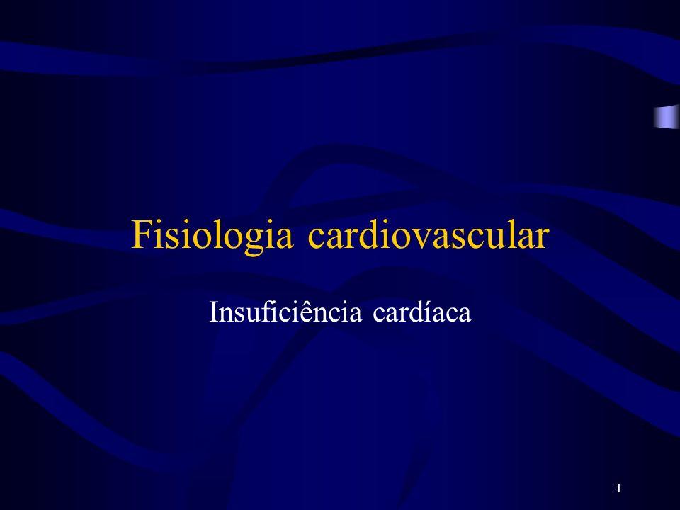 1 Fisiologia cardiovascular Insuficiência cardíaca