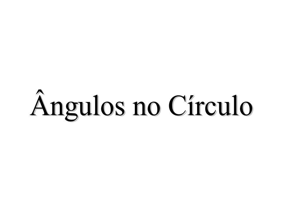 Por um Ponto Exterior a um círculo podem- se Traçar duas, e somente duas, Tangentes ao Círculo O A B R R P