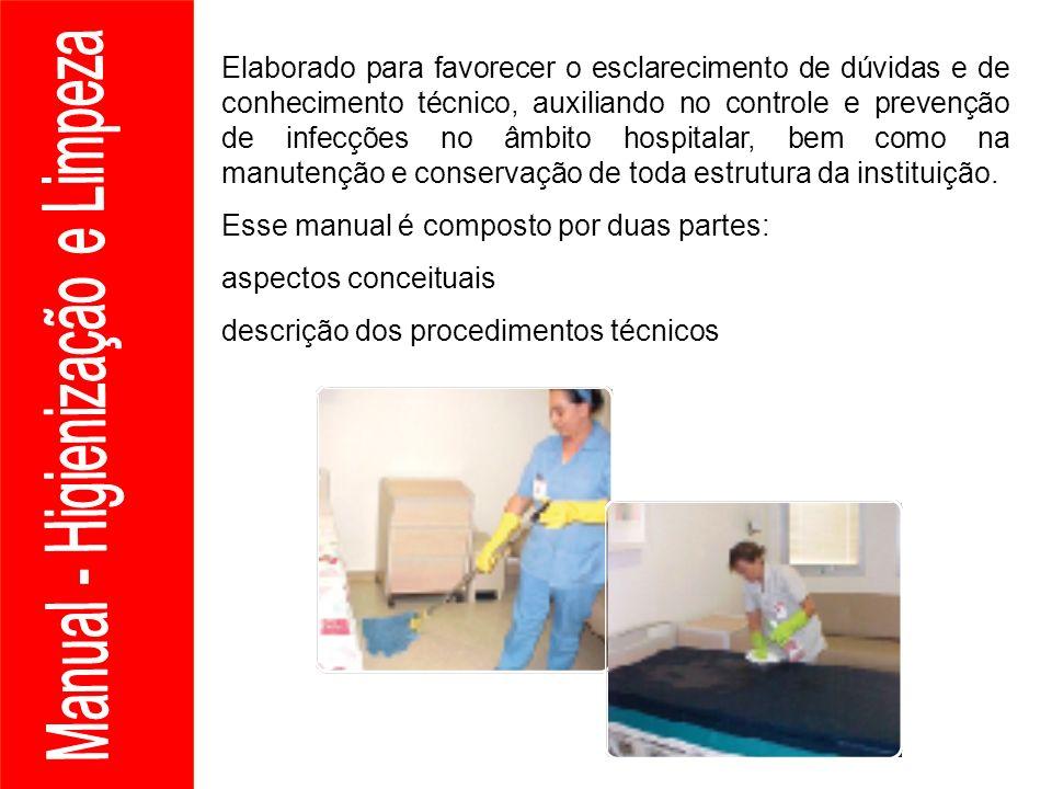 Elaborado para favorecer o esclarecimento de dúvidas e de conhecimento técnico, auxiliando no controle e prevenção de infecções no âmbito hospitalar,