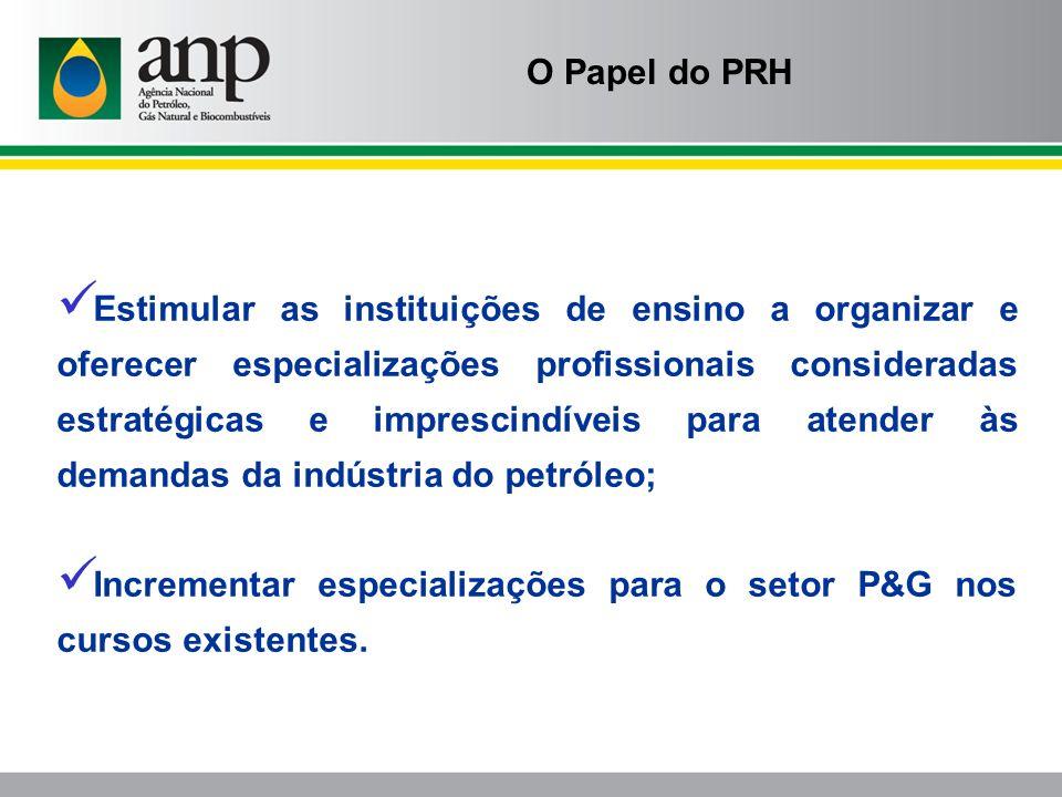 Estimular as instituições de ensino a organizar e oferecer especializações profissionais consideradas estratégicas e imprescindíveis para atender às d