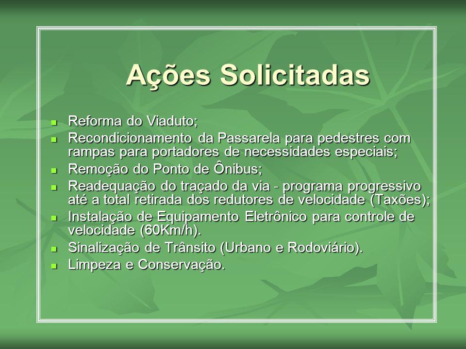 Responsáveis: Responsáveis: Prefeitura Municipal (SEINFRA e STT) Prefeitura Municipal (SEINFRA e STT) Departamento de Estradas e Rodagens do Estado da Bahia – DERBA Departamento de Estradas e Rodagens do Estado da Bahia – DERBA COFIC COFIC LIMPEC LIMPEC