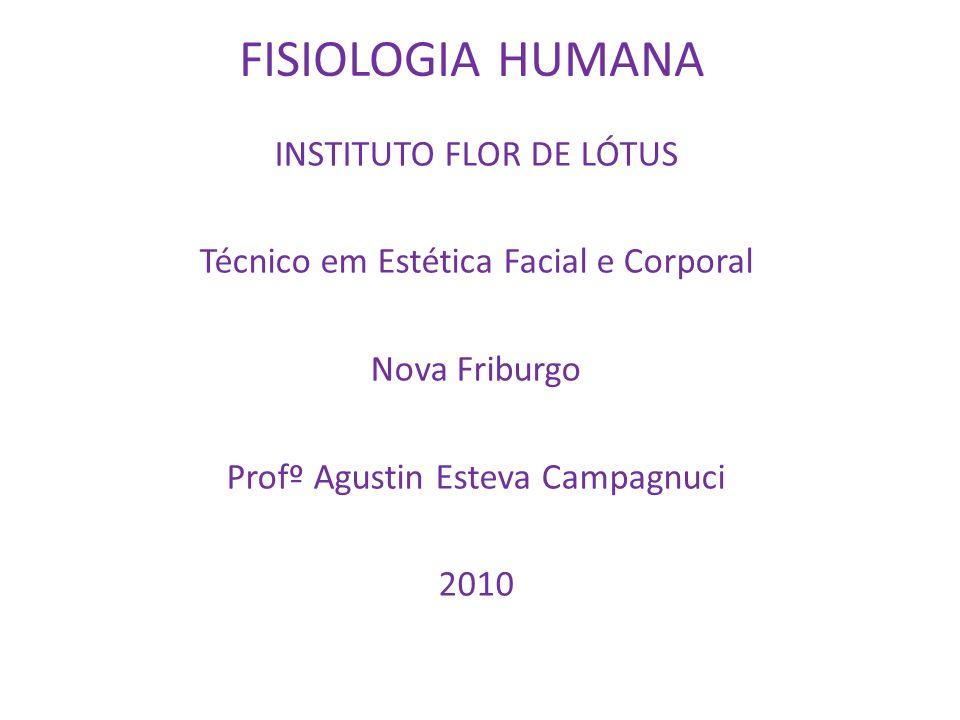 FISIOLOGIA HUMANA Introdução à Fisiologia: Celular e Geral O automatismo da vida.