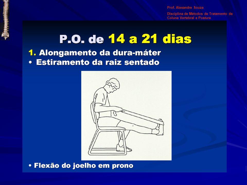Particularidades: - Particularidades: - Observar em perfil a flecha lombar; - No adulto a postura deve ser de 4 a 6 cm (3 dedos) e a coluna cervical de 6 a 8 cm (4 dedos); - O plano escapular e das nádegas devem ser alinhados; -Verificar hiperlordose, retificações, inclinações e gibosidade.