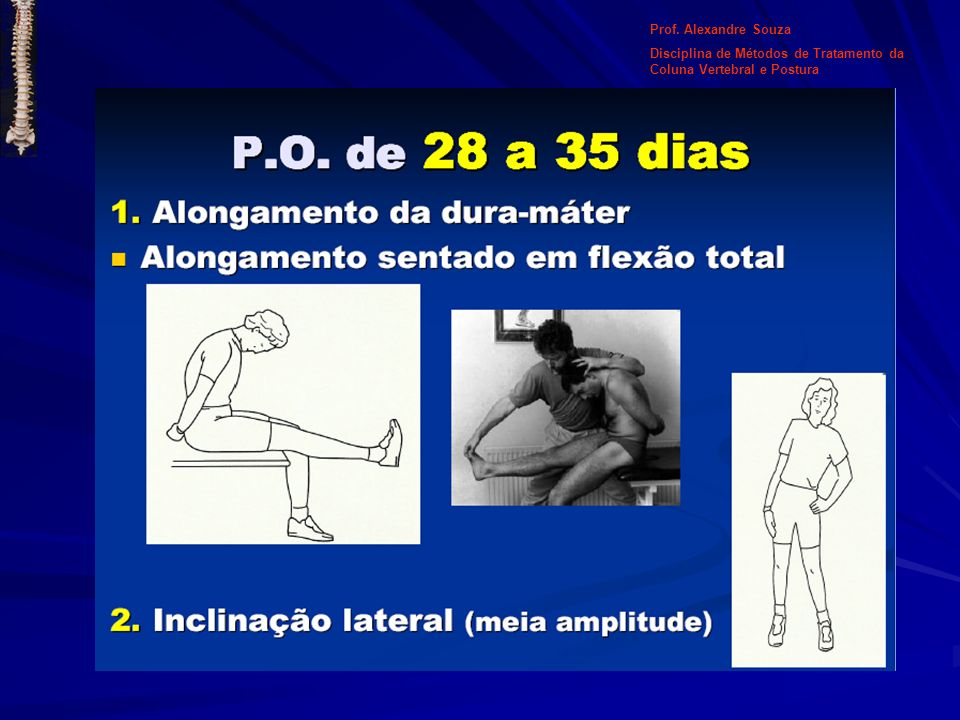 Posição IV: - Em pé: -Colocar a bola entre os joelhos; - Os braços são estendidos acima da cabeça, as mãos cruzadas, as palmas das mãos face a face.