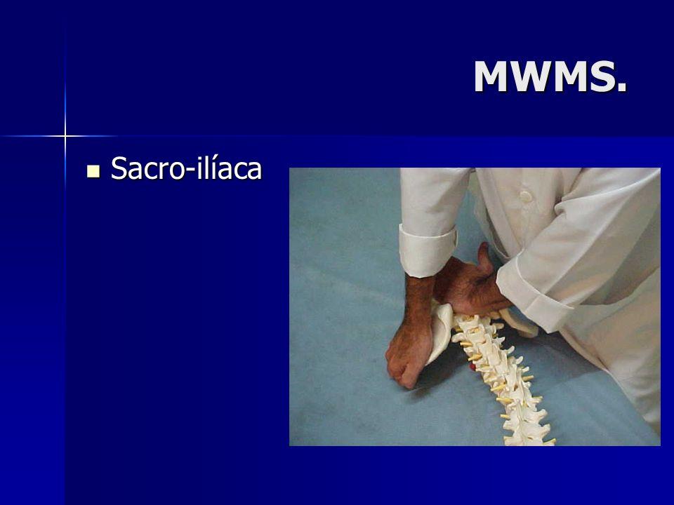 MWMS. Sacro-ilíaca Sacro-ilíaca