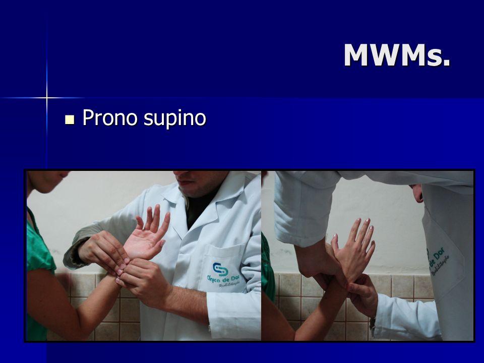 MWMs. Prono supino Prono supino
