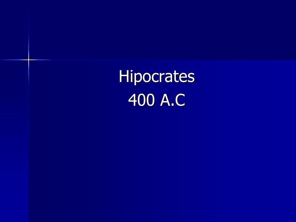Hipocrates 400 A.C