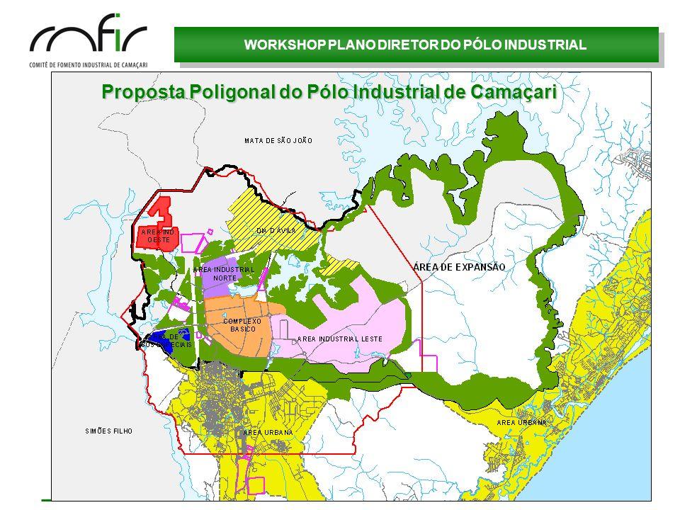 Proposta Poligonal do Pólo Industrial de Camaçari
