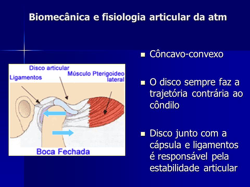 Biomecânica da ATM- estabilidade do disco Ação muscular Masseter profundo: Estabilidade lateral do disco Masseter profundo: Estabilidade lateral do di