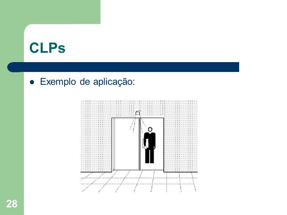 28 CLPs Exemplo de aplicação: