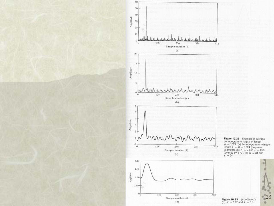TE-072 Processamento Digital de Sinais I - UFPR 26