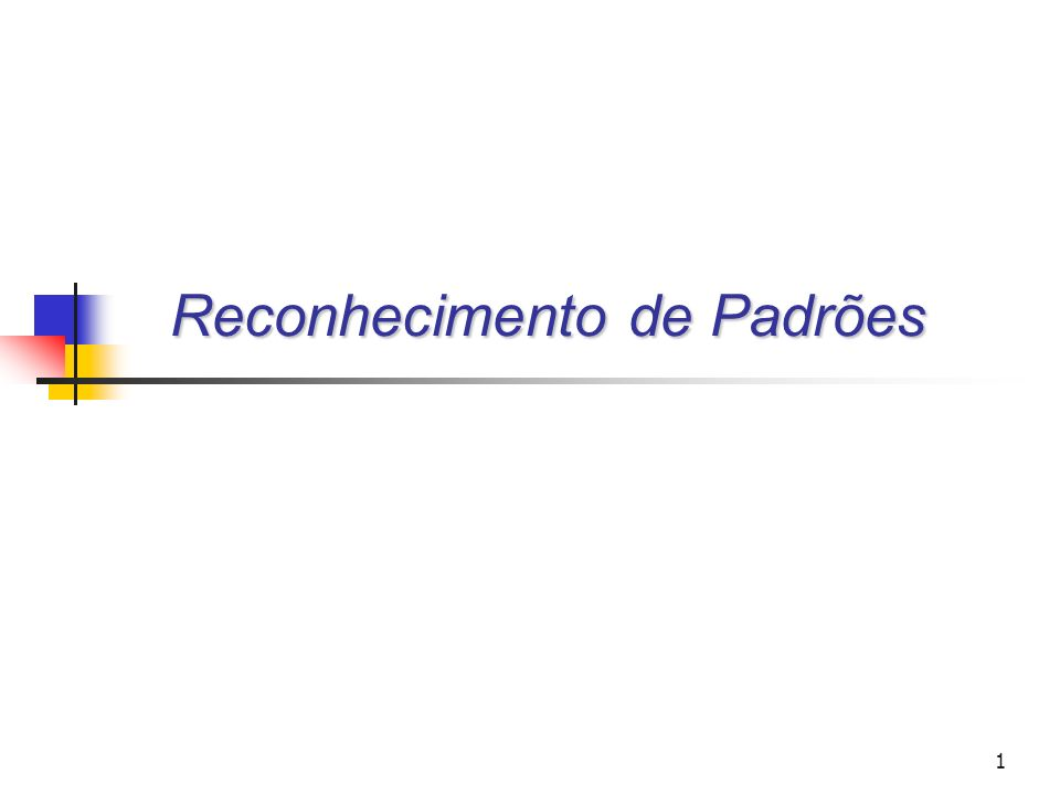 Universidade Federal do Paraná Setor de Tecnologia Departamento de Engenharia Elétrica TE073 – Processamento Digital de Sinais II12 Principio da Similaridade e Classificação Um registo pertence à classe c, se o(s) registo(s) mais próximo(s) no espaço n-dimensional dos registos conhecidos (treino) pertence à mesma classe c Utiliza: Abstração matemática de distância