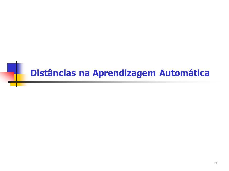 Universidade Federal do Paraná Setor de Tecnologia Departamento de Engenharia Elétrica TE073 – Processamento Digital de Sinais II14 A distância entre dois pontos é o comprimento da linha que os conecta.