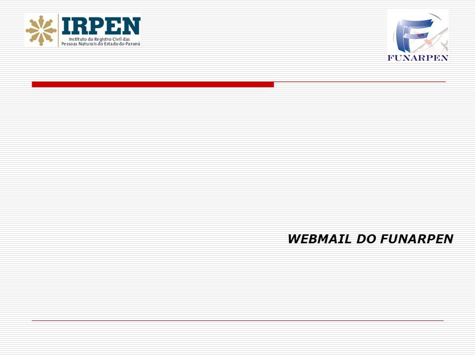 WEBMAIL DO FUNARPEN