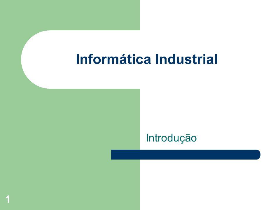 32 Campos de atuação na área Industrial teste Figura retirada das transparências do prof.