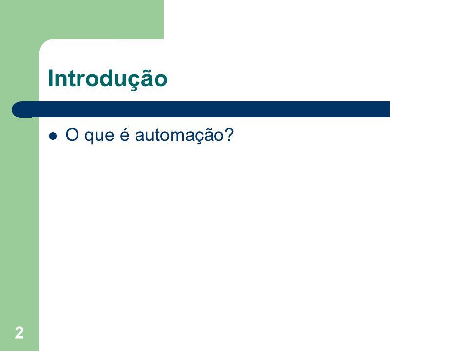 2 O que é automação?