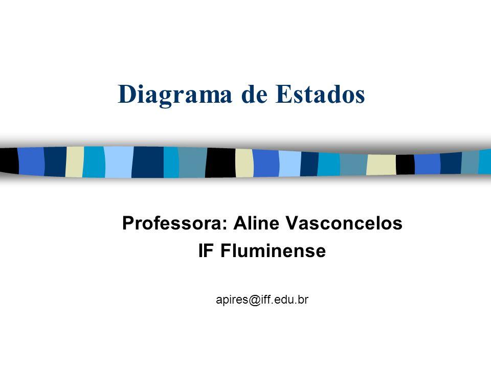Diagrama de Estados Professora: Aline Vasconcelos IF Fluminense apires@iff.edu.br