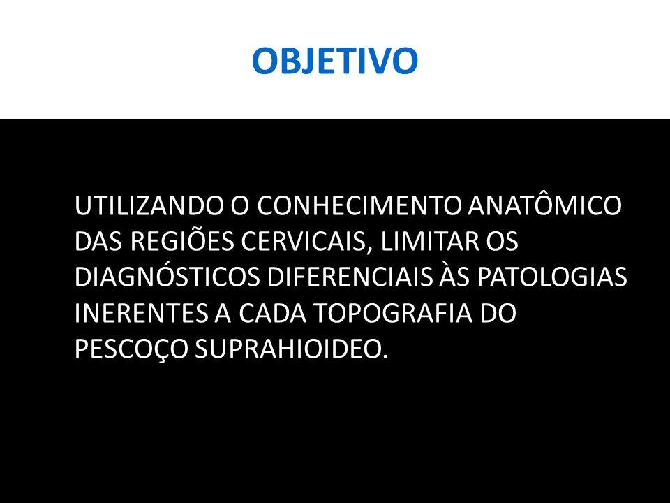 MÉTODOS FORAM SELECIONADOS CASOS REPRESENTATIVOS DAS LESÕES MAIS CARACTERÍSTICAS DE CADA ESPAÇO, ATRAVÉS DE BUSCA ATIVA NO ARQUIVO DO SERVIÇO DE RADIOLOGIA DE UM HOSPITAL UNIVERSITÁRIO DE PORTO ALEGRE, NO PERÍODO COMPREENDIDO ENTRE JANEIRO DE 2009 E MARÇO DE 2012.