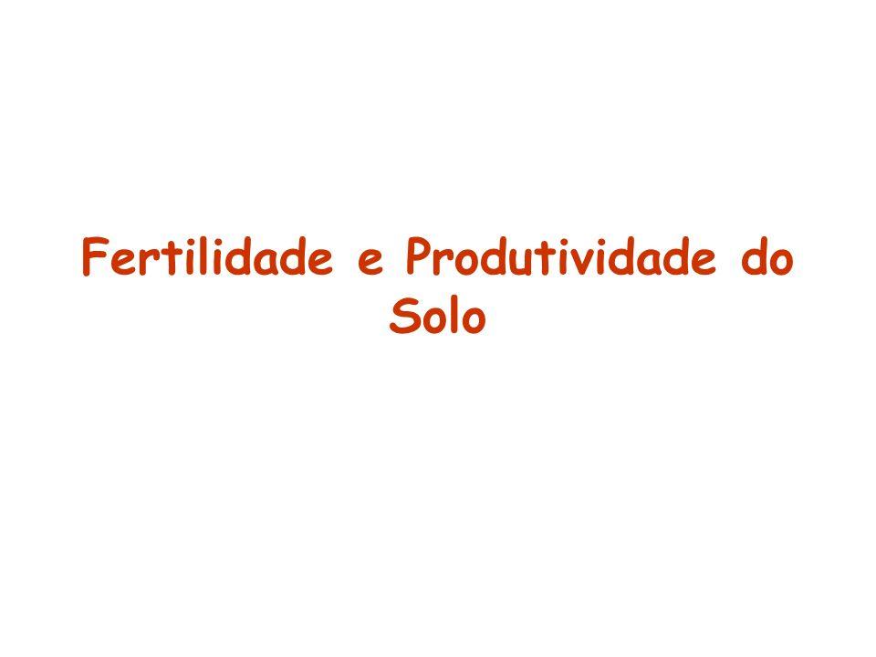 O que é um solo fértil ??? O que é um solo produtivo??? Todo solo fértil é produtivo???