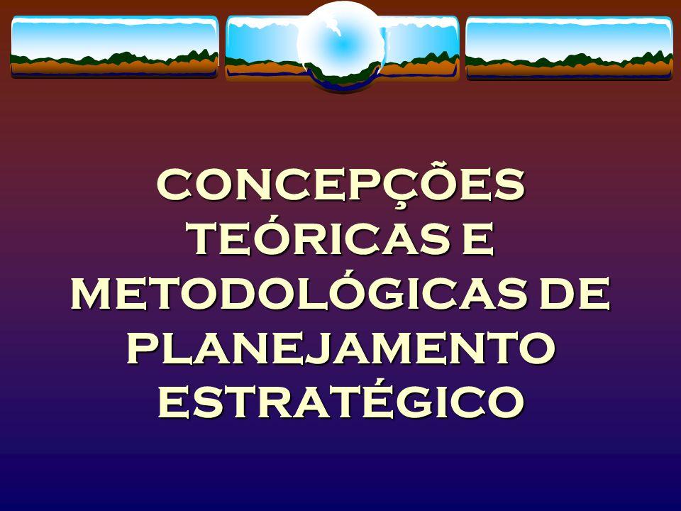ALGUMAS PREMISSAS: O Planejamento pode e deve ser utilizado como: 1.