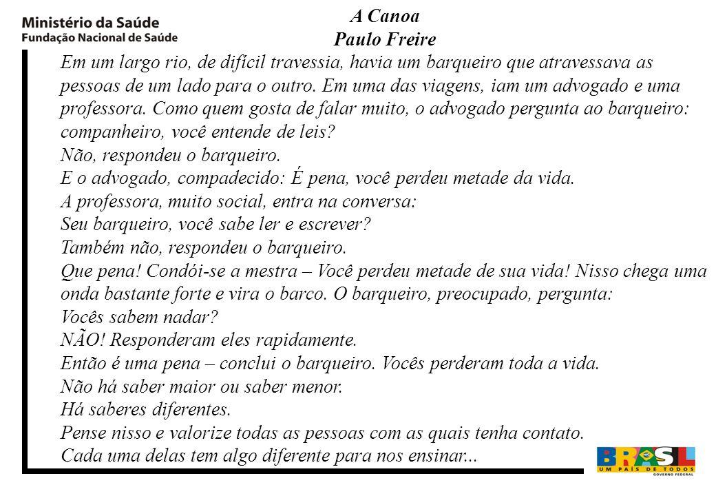 Bibliografia BRASIL.Fundação Nacional de Saúde.