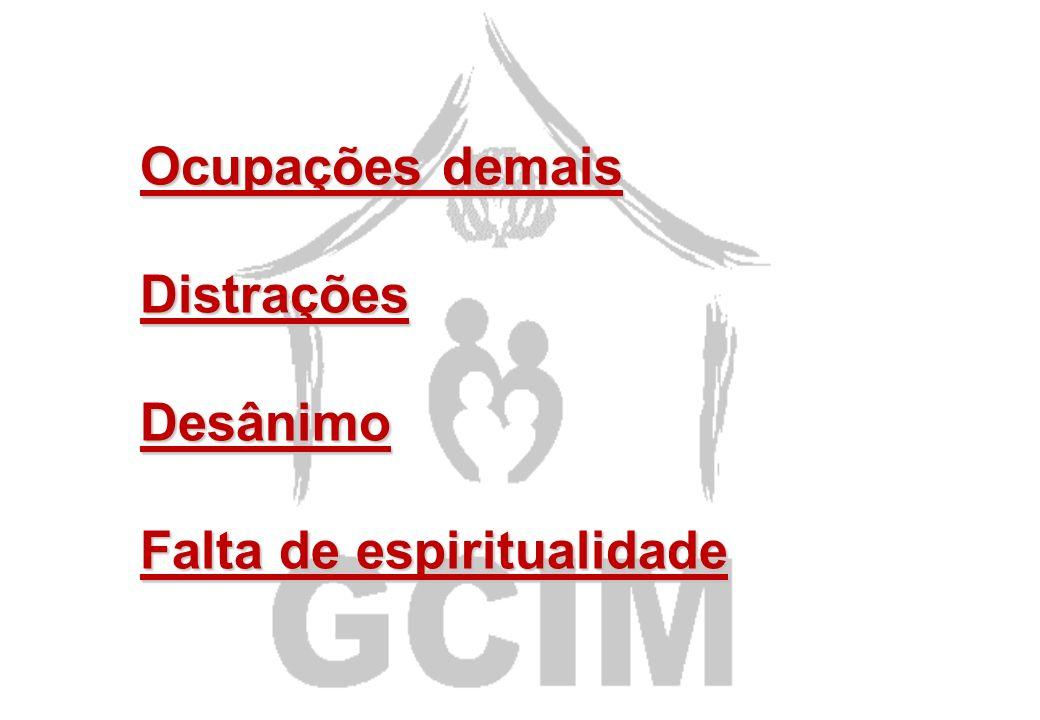 A oração é a atividade mais importante do líder de GCIM A oração é a atividade mais importante do líder de GCIM E aí? Por ser importante é fácil?! Alg
