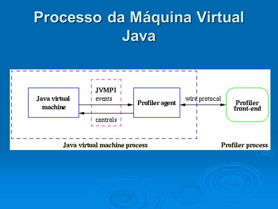 Processo da Máquina Virtual Java