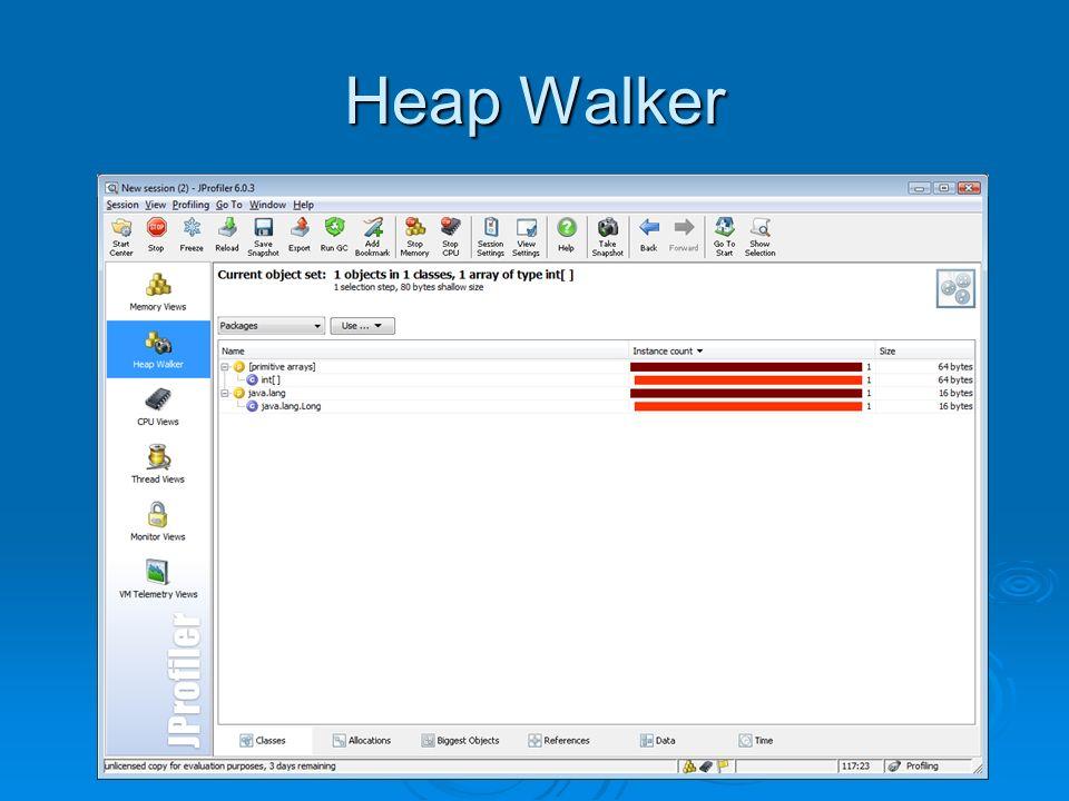 Heap Walker