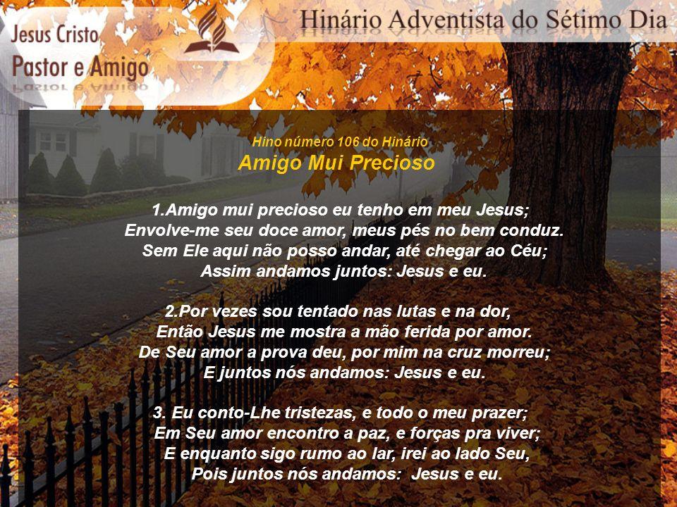 Hino número 137 do Hinário Anunciai Pelas Montanhas CORO: Anunciai pelas montanhas, E proclamai por terra e mar; Anunciai pelas montanhas Que Cristo vai voltar.