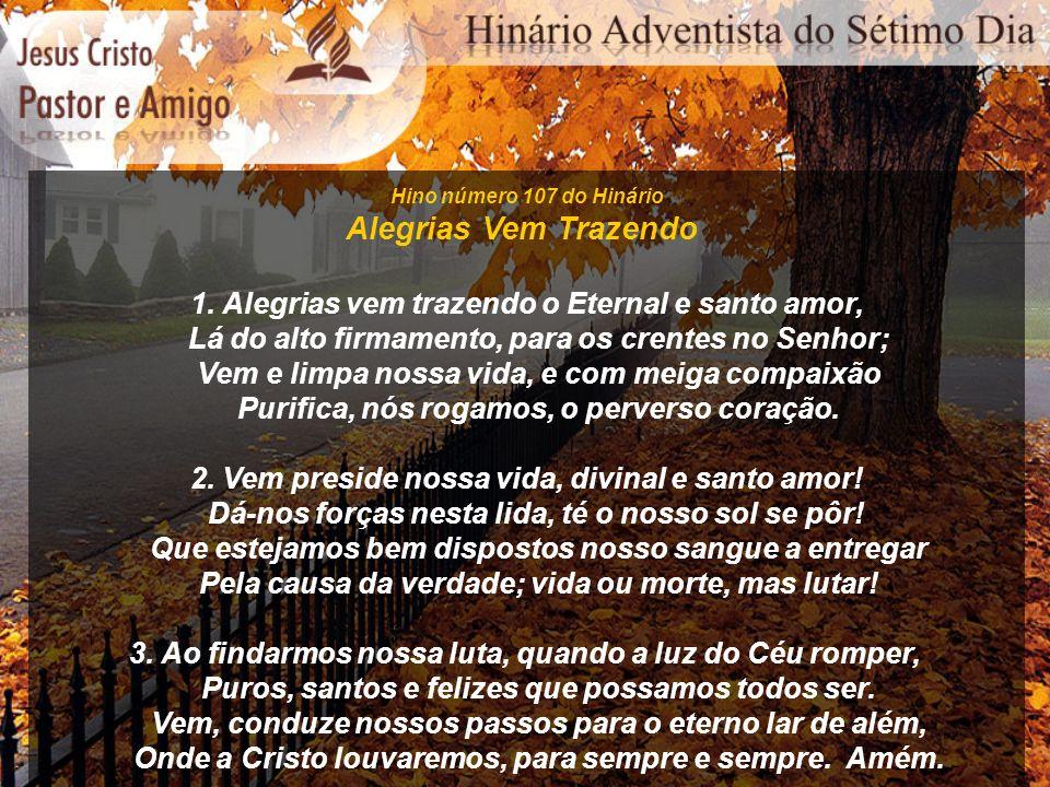 Hino número 118 do Hinário Jesus, o Bom Amigo 1.