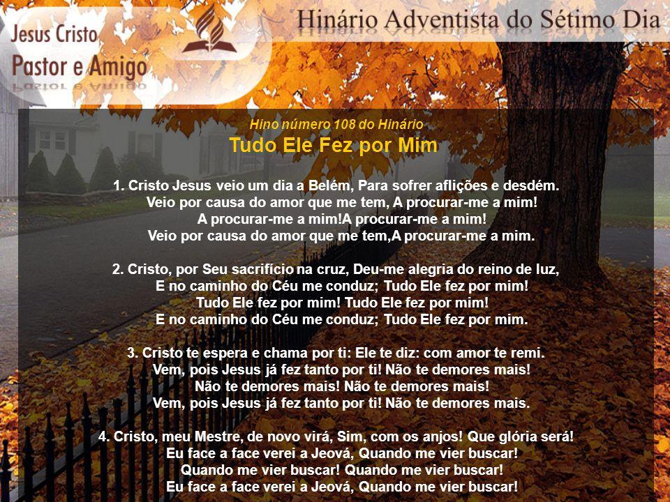 Hino número 139 do Hinário Jesus à Terra Voltará 1.