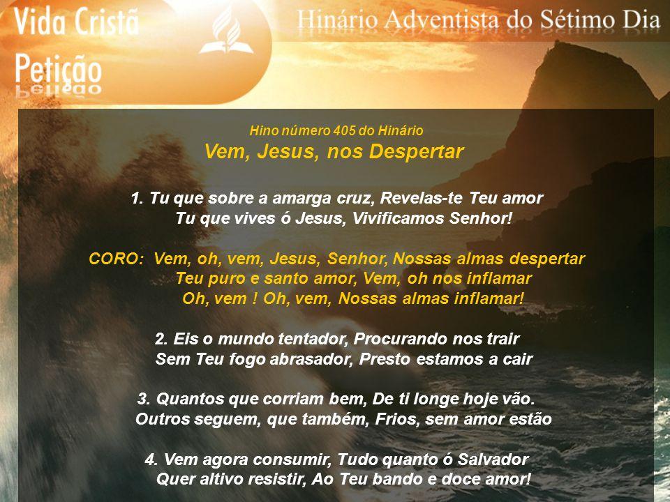 Hino número 416 do Hinário Ao Pé da Cruz de Cristo 1.