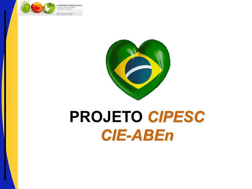 CIPESC CIE-ABEn PROJETO CIPESC CIE-ABEn