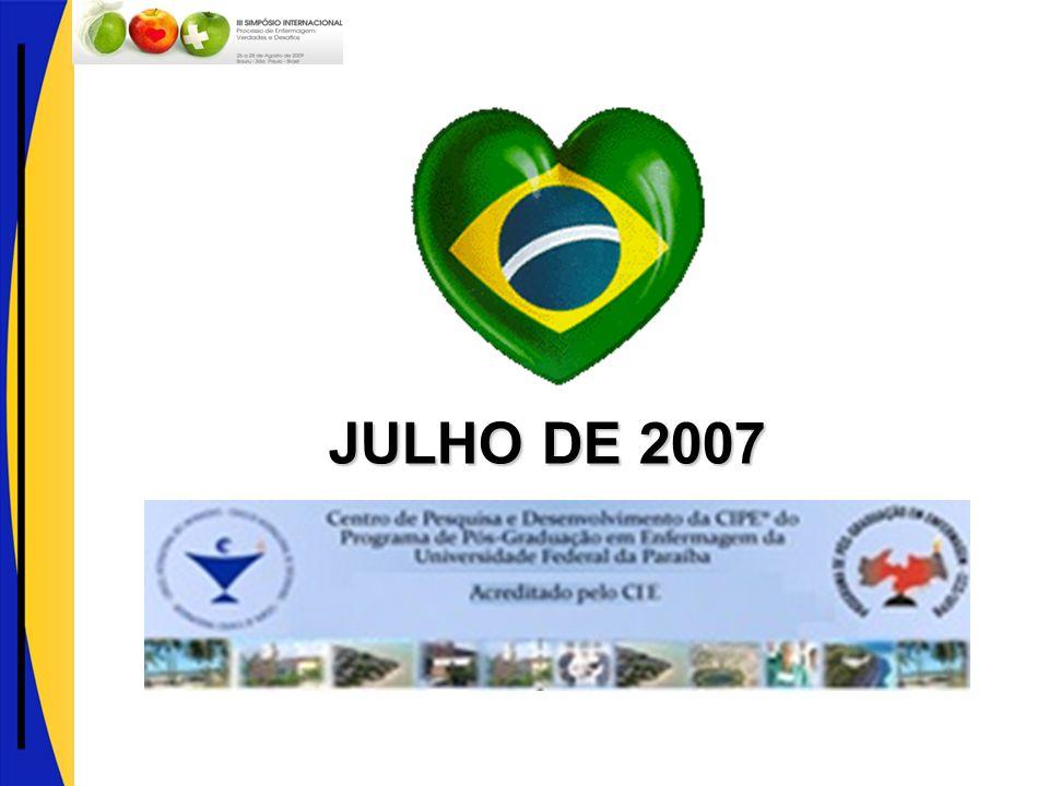 JULHO DE 2007