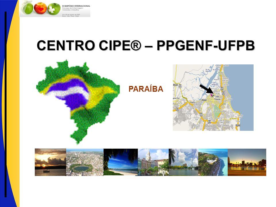 CENTRO CIPE® – PPGENF-UFPB PARAÍBA