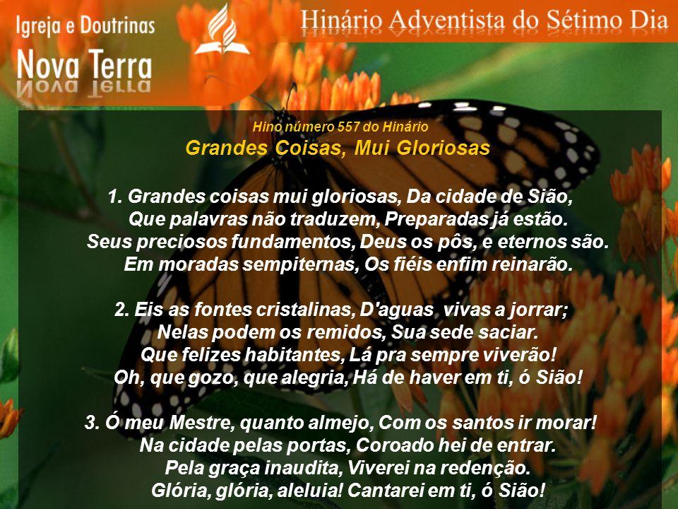 Hino número 598 do Hinário Vem, Espírito Santo Vem Espírito Santo, Vem transforma meu ser.