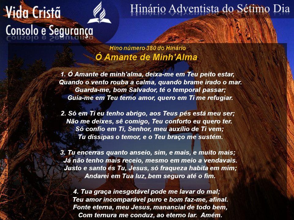 Hino número 381 do Hinário Jesus Proverá 1.