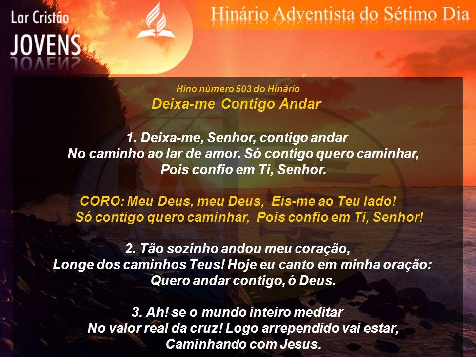 Hino número 534 do Hinário Salvo em Jesus Salvo em Jesus, meu Mestre, tenho perfeita paz; Tal comunhão com Ele toda aflição desfaz.