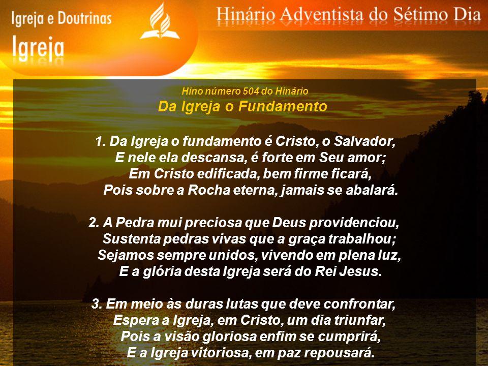 Hino número 535 do Hinário Para o Céu por Jesus Irei 1.
