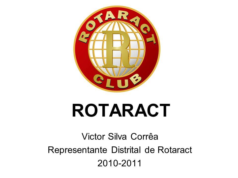 ROTARACT Victor Silva Corrêa Representante Distrital de Rotaract 2010-2011