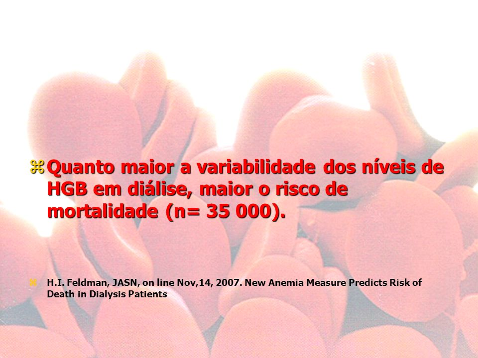zEPO protege o endotélio capilar, prolongando CKD sem necessidade de diálise. Fliser D. Perspectives in renal disease progression: the endothelium as