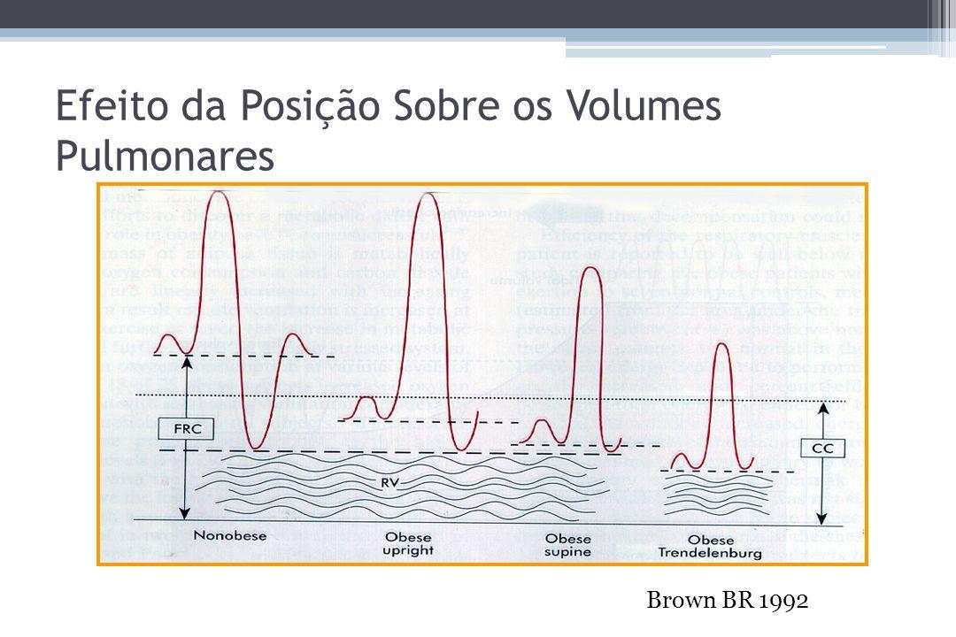 Efeito da Posição Sobre os Volumes Pulmonares Brown BR 1992