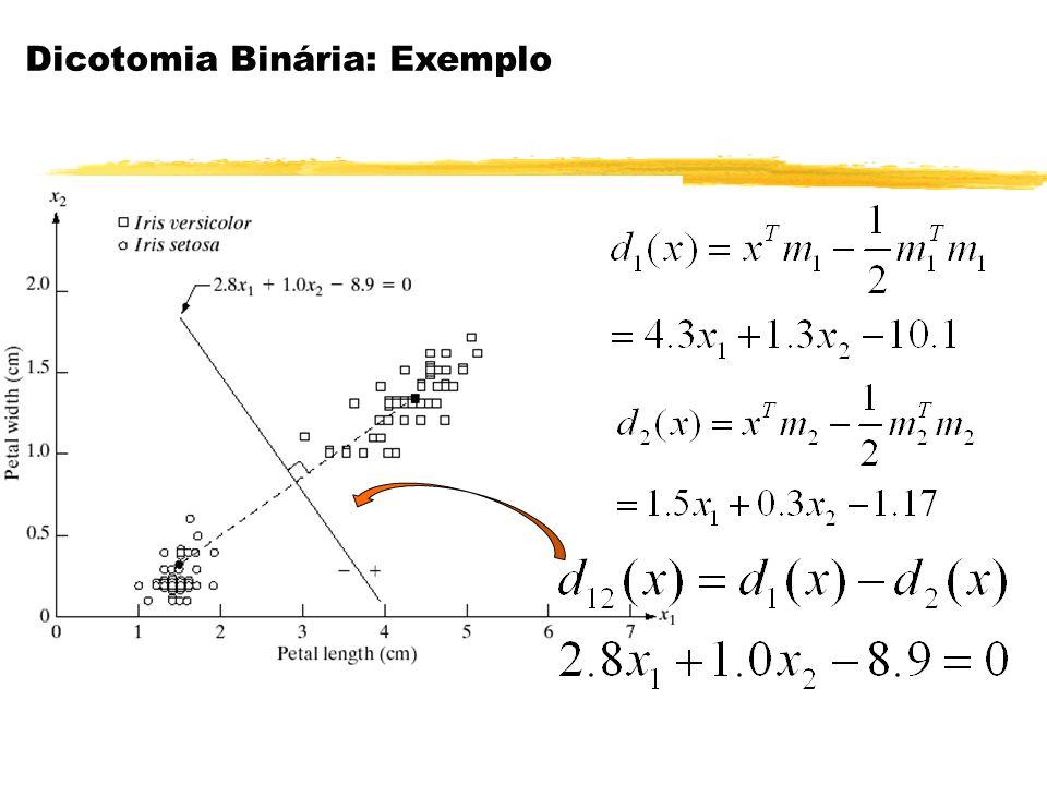 Dicotomia Binária: Exemplo