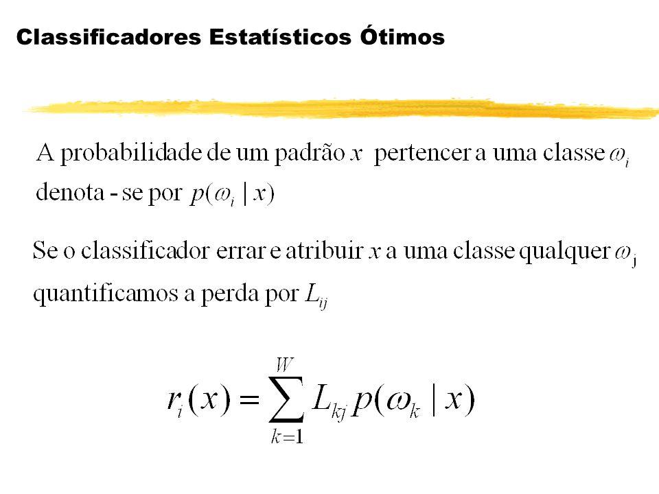 Classificadores Estatísticos Ótimos