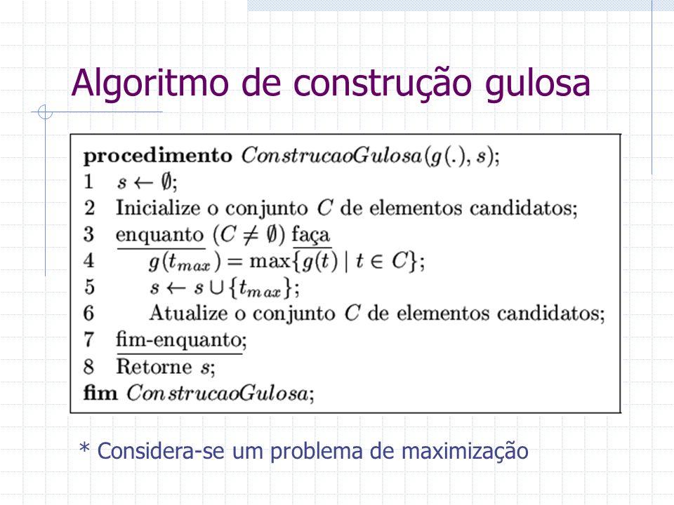 Complexidade da heurística construtiva do vizinho mais próximo aplicada ao PCV 1 2 3 4...