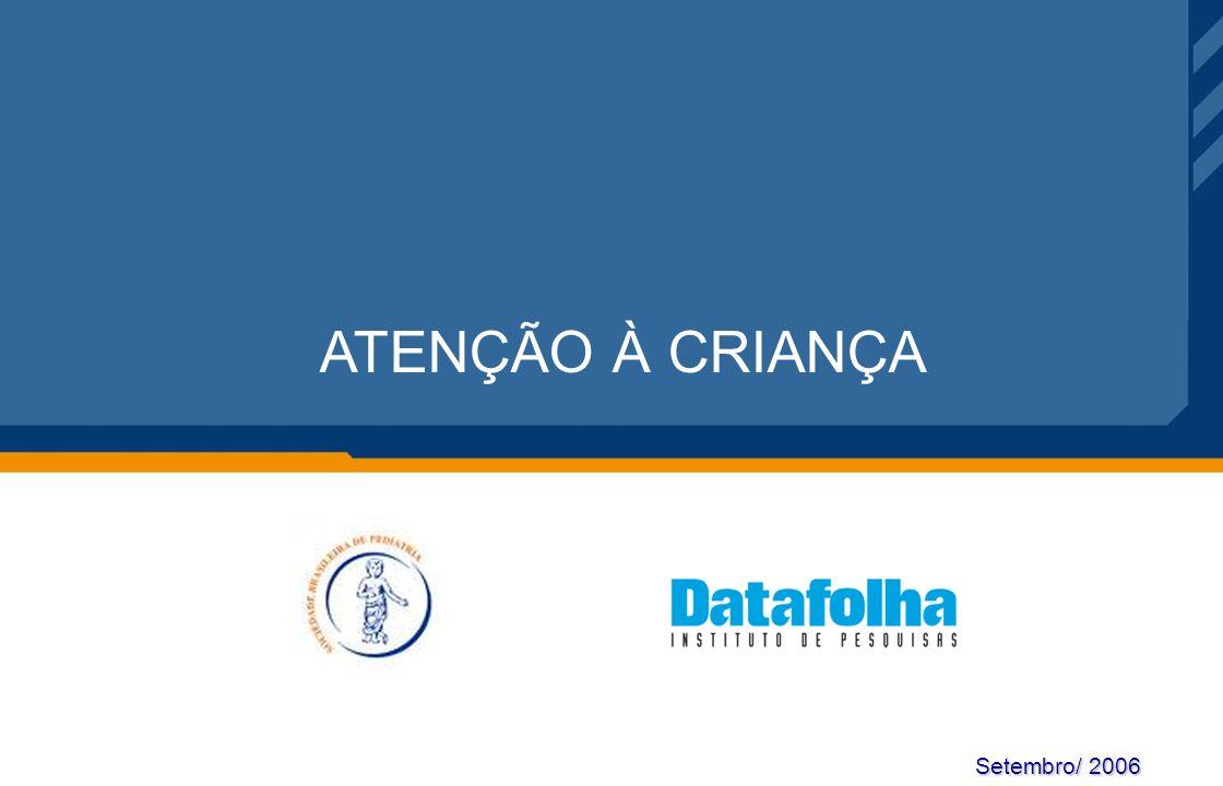 Setembro/ 2006 ATENÇÃO À CRIANÇA